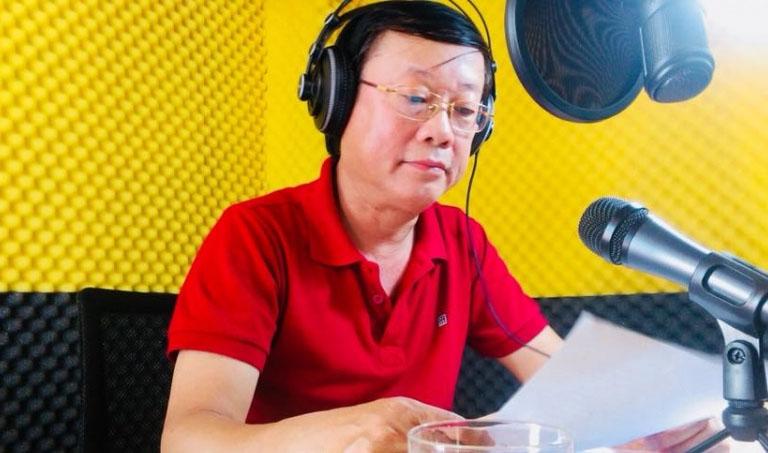 NS Phú Thăng trong vai trò diễn viên nổi tiếng