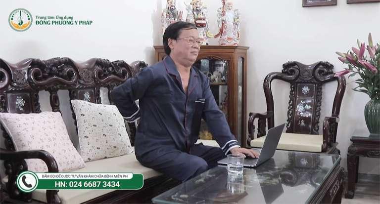 Nghệ sĩ Phú Thăng đã có khoảng thời gian khổ sở vì cơn đau thoát vị đĩa đệm