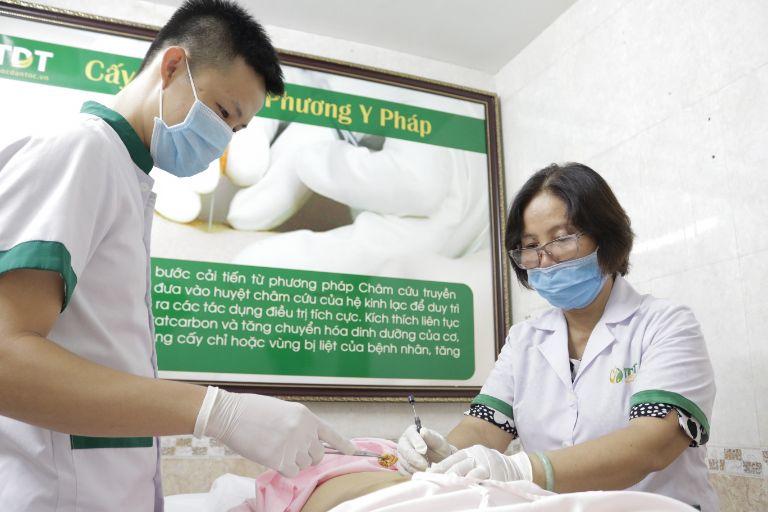 Quy trình trị liệu cấy chỉ cần thực hiện khoa học, chuẩn quy định của Bộ y tế