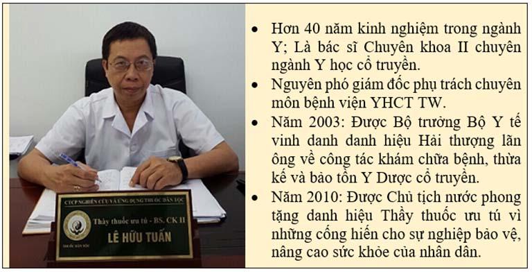 Chức danh và các vị trí đảm nhận của bác sĩ Lê Hữu Tuấn