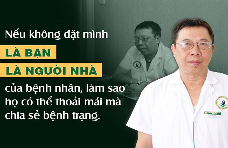 Quan điểm nghề nghiệp luôn gắn liền với bác sĩ Tuấn