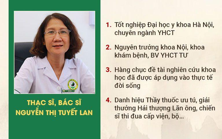 Thạc sĩ, bác sĩ Tuyết Lan