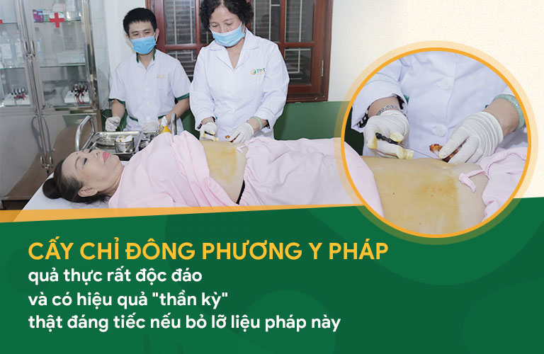 Nghệ sĩ Thu Hà đánh giá tích cực về liệu trình cấy chỉ tại Đông phương Y pháp