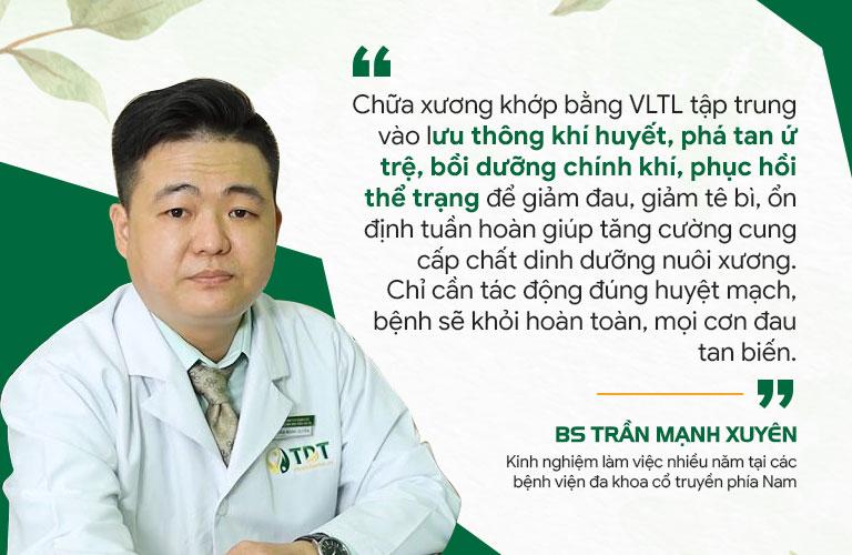 Nguyên tắc điều trị bênh xương khớp tại Đông phương Y pháp